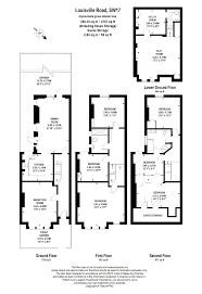 Althorp House Floor Plan by 6 Bed Terraced House For Sale In Louisville Road London Sw17