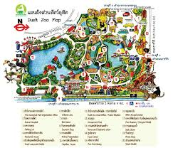 bangkok map tourist attractions dusit zoo in bangkok bangkok zoo animal parks