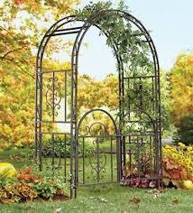 wedding arches on ebay large garden arbor iron patio archway w optional gate wedding