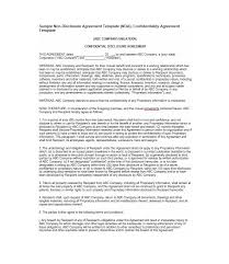 sample confidentiality agreement simple confidentiality agreement