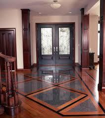 installing tile wood floors together grid patterns designs
