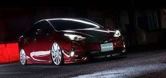 prius lexus body kit 2016 toyota prius tuned by wald looks decent autoevolution