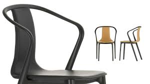 Armchair Leather Vitra Belleville Armchair Leather