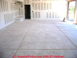 Basement Flooring Tiles With A Built In Vapor Barrier How To Evaluate Cracks At Control Joints Or Expansion Joints In