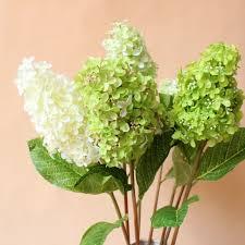 beautiful artificial hydrangea home decoration faux silk flowers