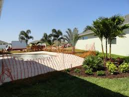 tropical pool landscaping in port saint lucie fl construction