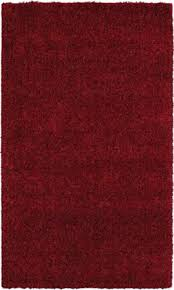 mohawk super texture shag 6464 brick red area rug area rugs by