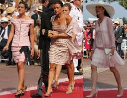 dresses for wedding guests 2011 monaco royal wedding guests carpet fashion awards