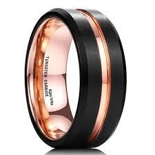 Black Gold Wedding Rings by Black Gold Wedding Bands Amazon Com