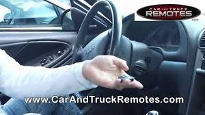 lincoln ls replacement remote programming 2003 2006 youtube