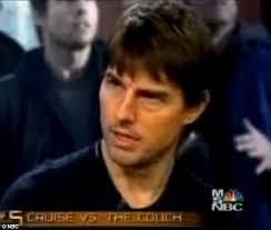Tom Cruz Meme - matt lauer admits to cold war period after tom cruise called him