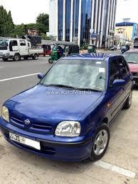 nissan sri lanka automart lk registered used nissan march k 11 car for sale at