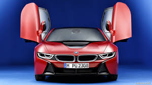 Bmw I8 Doors - 2016 bmw i8 protonic red edition doors up front hd wallpaper 1