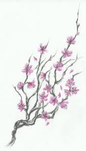collection of 25 grey owl on cherry blossom tree design