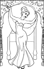 anastasia ballet dress indian dancer coloring page wecoloringpage