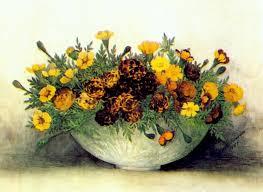 Robbins Flowers - robbins marigolds ellen robbins artists art might just art