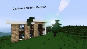 Modern House California California Modern Mansion Minecraft Project
