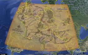 Europe Google Maps by I Always Have Trouble With Imagining The Scale Of Middle Earth