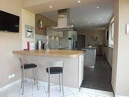cuisine ouverte avec comptoir comptoir pour cuisine ouverte idées décoration intérieure