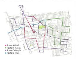Fedex Route Map by Lynwood Trolley Breeze Schedule City Of Lynwood