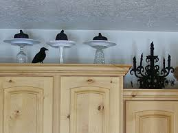 decorating the cabinets for halloween organize and decorate