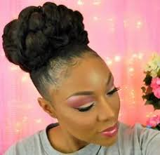 2017 classy bun hairstyles for african american women 13 hottest black updo hairstyles classy makeup and black women