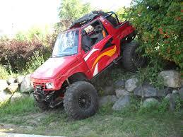 chevy tracker off road suzuki sidekick crawler cars and trucks pinterest 4x4