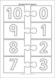 number bonds to 10 free math worksheets learning numbers number