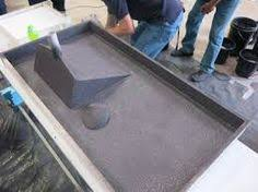 How To Make A Concrete Table by How To Make A Mold For A Concrete Sink Google Search Concrete