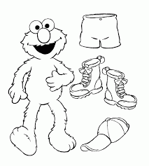 elmo cookie monster coloring pages coloring