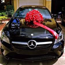 new car gift bow miguelrc7 s photo of his brand new with bow naturally was