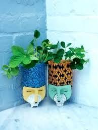 garden pots with faces u2013 exhort me