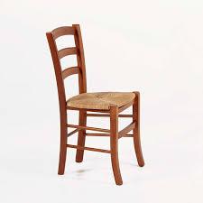 chaise en bois chaise rustique en bois et paille brocéliande 4 pieds tables