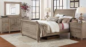King Sleigh Bed Summer Grove Gray 5 Pc King Sleigh Bedroom King Bedroom Sets Colors