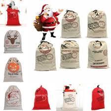 bulk christmas bags 19 7x27 6 santa present sack cotton bulk christmas bags for