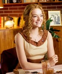 emma stone natural hair emma stone rocks curly hair for new movie naturallycurly com