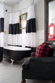 bathroom inspiration trend black and white