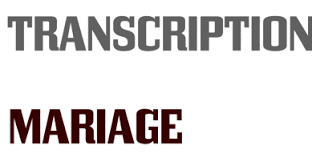 transcription de mariage a nantes copie acte de transcription acte de mariage mariage franco