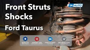 how to install replace front struts shocks ford taurus mercury