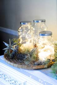 jar centerpiece ideas 14 ways to decorate for the holidays with jars simplemost