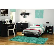 Bedroom Furniture Sets Black South Shore Smart Basics 4 Piece Twin Bedroom Set Multiple