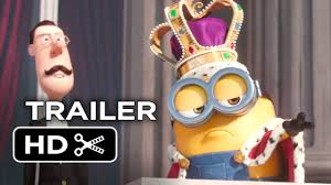 the minions steal the queen u0027s crown in a 3rd trailer for the