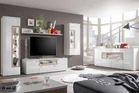 Wohnzimmer Ohne Wohnwand Hbz Meble Wohnwand Prag Weiß Mit Beleuchtung Möbel Letz Ihr