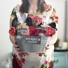 date basket s day date in gift basket idea 24 more v day