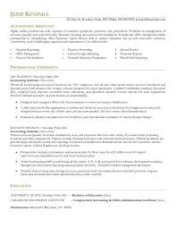 Sample Resume Accounts Receivable Awesome Collection Of Sample Resume For Assistant Accountant About