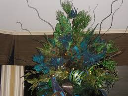 superb christmas tree topper in home office traditional with