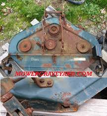 bolens lawn mower grave yard equipment used tractor parts salvage