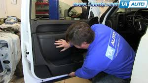 how to install remove front door panel 2007 2013 chevy silverado