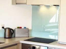 credence cuisine verre trempé credence cuisine verre dalle mosaique aluminium et verre carrelage
