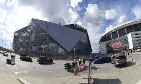 mercedes dome mercedes stadium roof causing more delays falcons wire